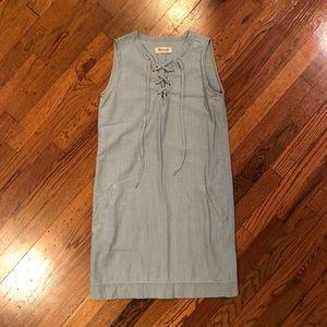 Madewell Denim Shift Dress